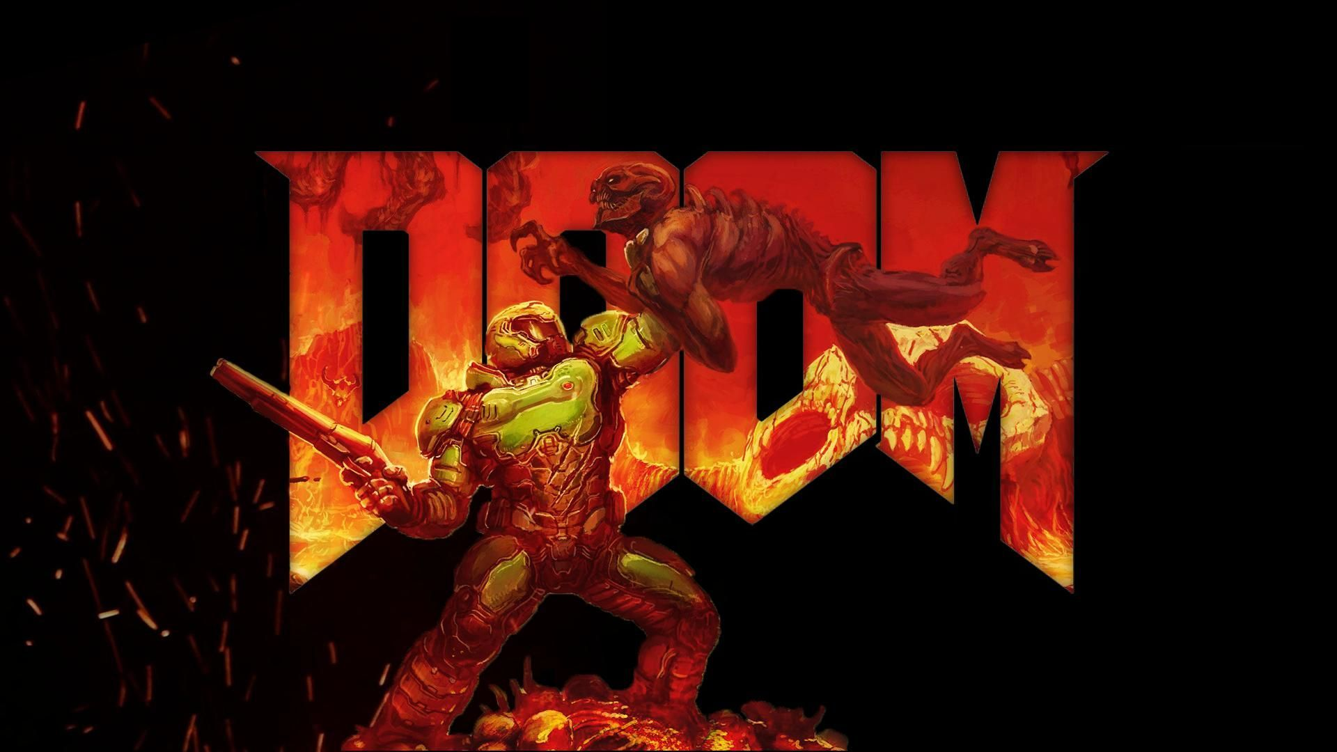 1920x1080 OC - DOOM Wallpaper | Doom game | Doom game, Gaming wallpapers, Games