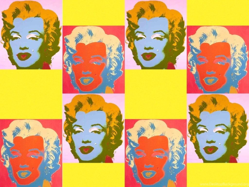 1024x768 Andy Warhol Marilyn Monroe Pop Art Wallpapers ( Desktop Background