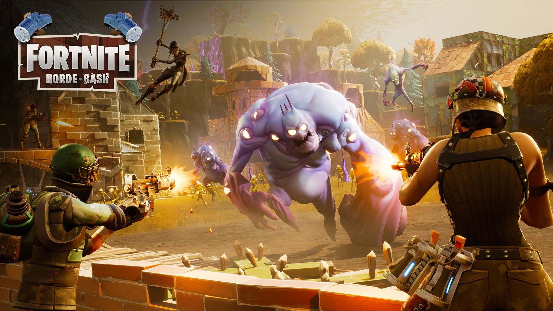 1920x1080 Fortnite Update Reveals Horde Bash Mode and More Updates