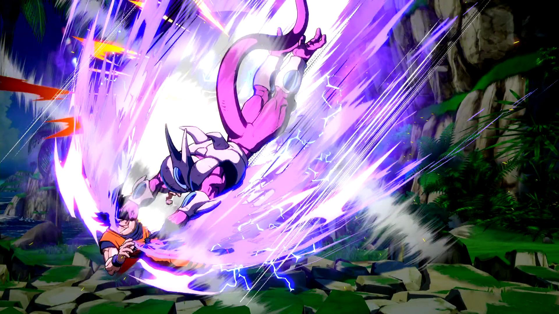 1920x1080 Dragon Ball FighterZ: Cooler (2018) promotional art - MobyGames