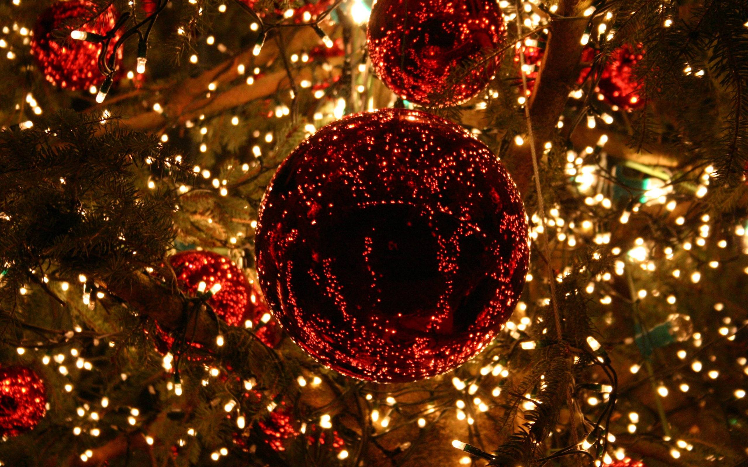 2560x1600 Christmas Lights Wallpapers