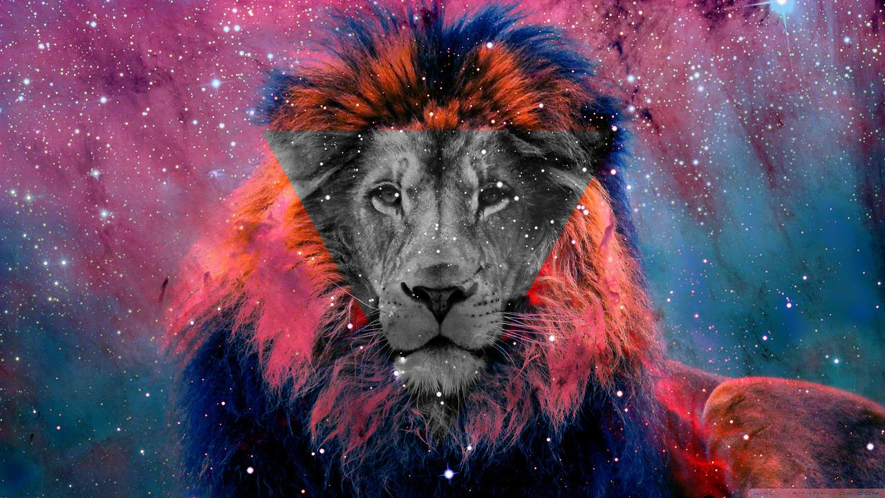 1280x720 Galaxy Lion Wallpaper - 60 HD Wallpaper Collections