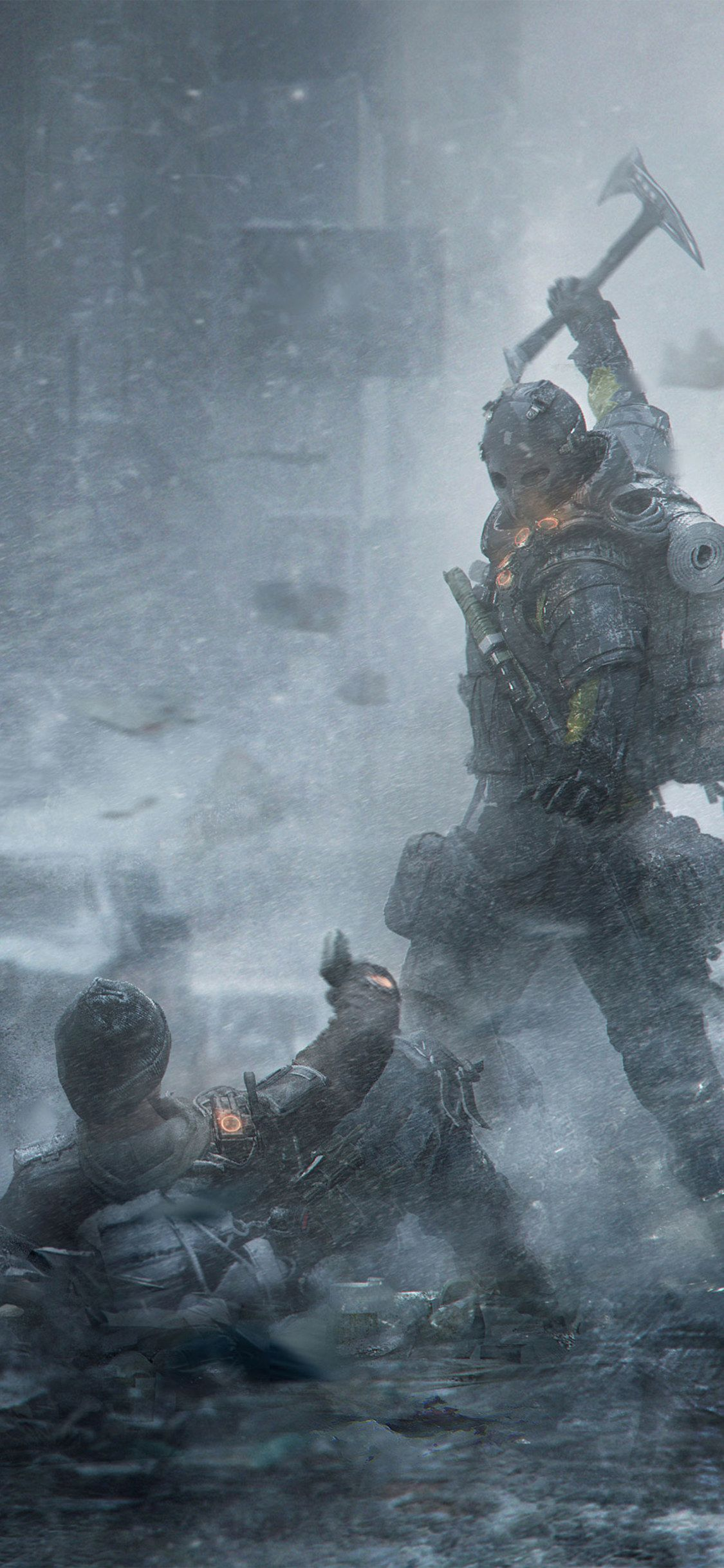 1125x2436 1125x2436 Tom Clancys The Division Survival Artwork Iphone XS,Iphone ...