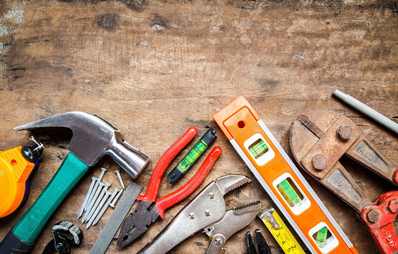 1332x850 Wallpaper wood, tools, workbench images for desktop, section ...