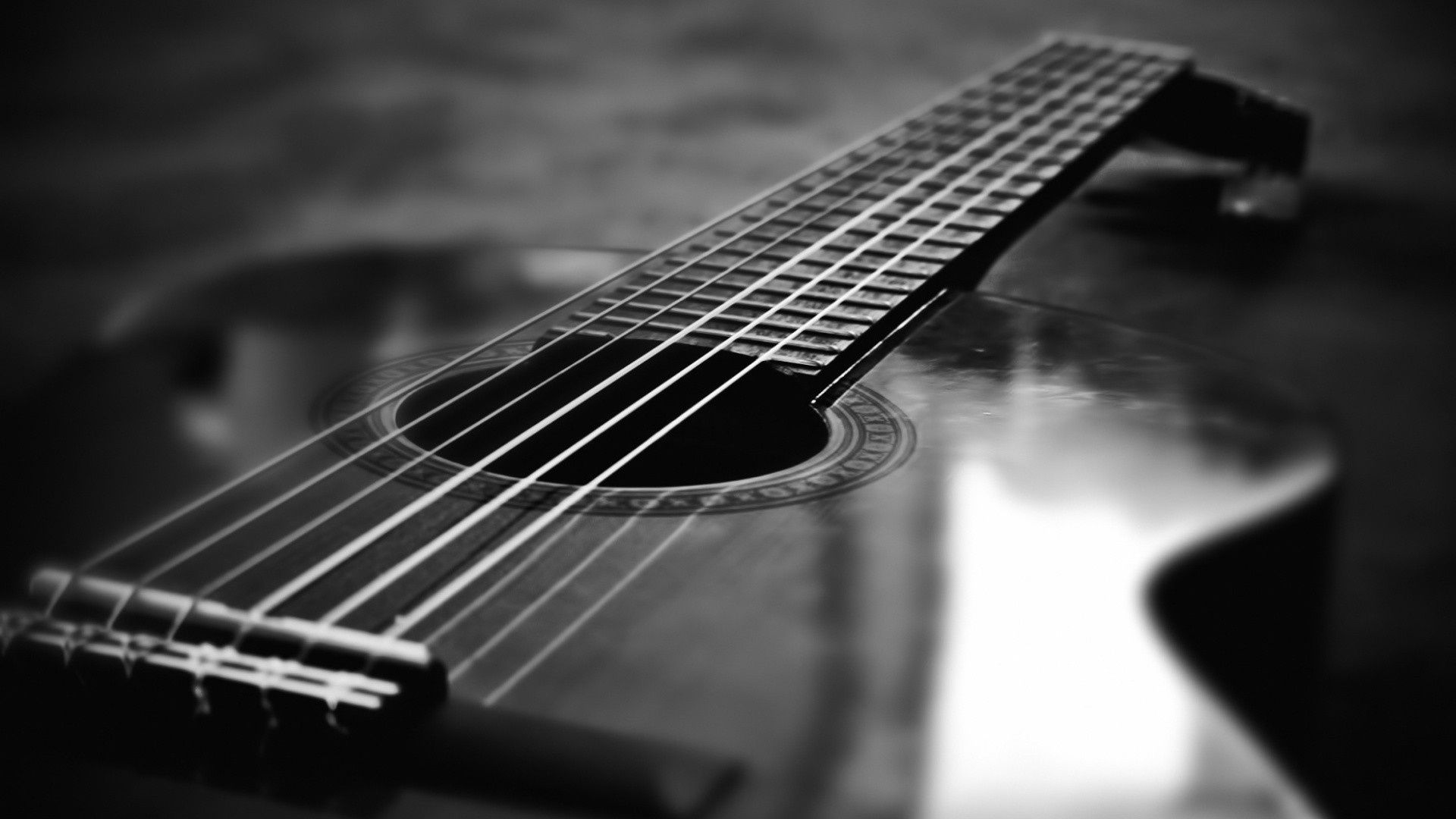 1920x1080 Free Black And White Guitar, Download Free Clip Art, Free Clip Art ...