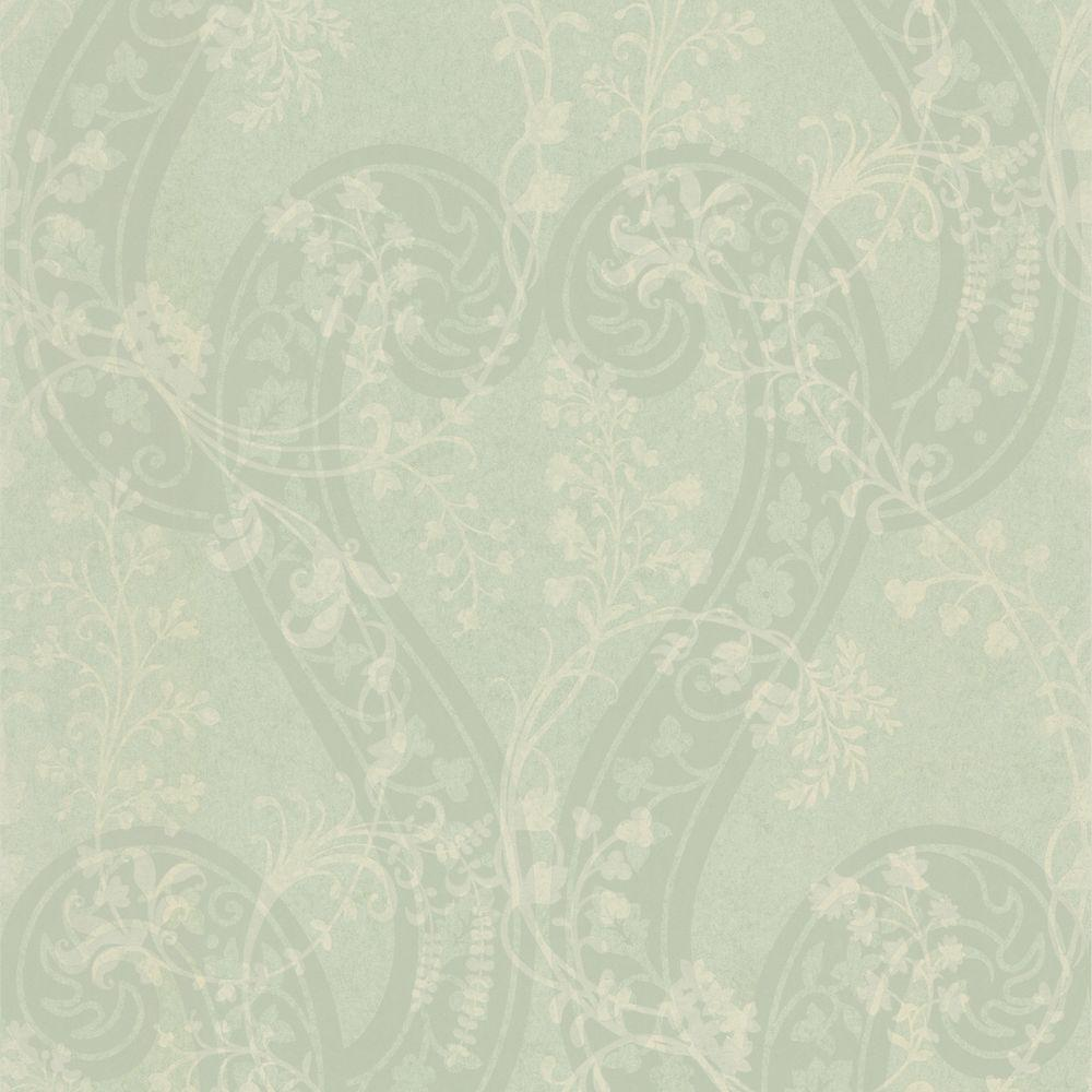1000x1000 Pandora Light Green Botanical Vines Wallpaper-301-66903 - The Home Depot