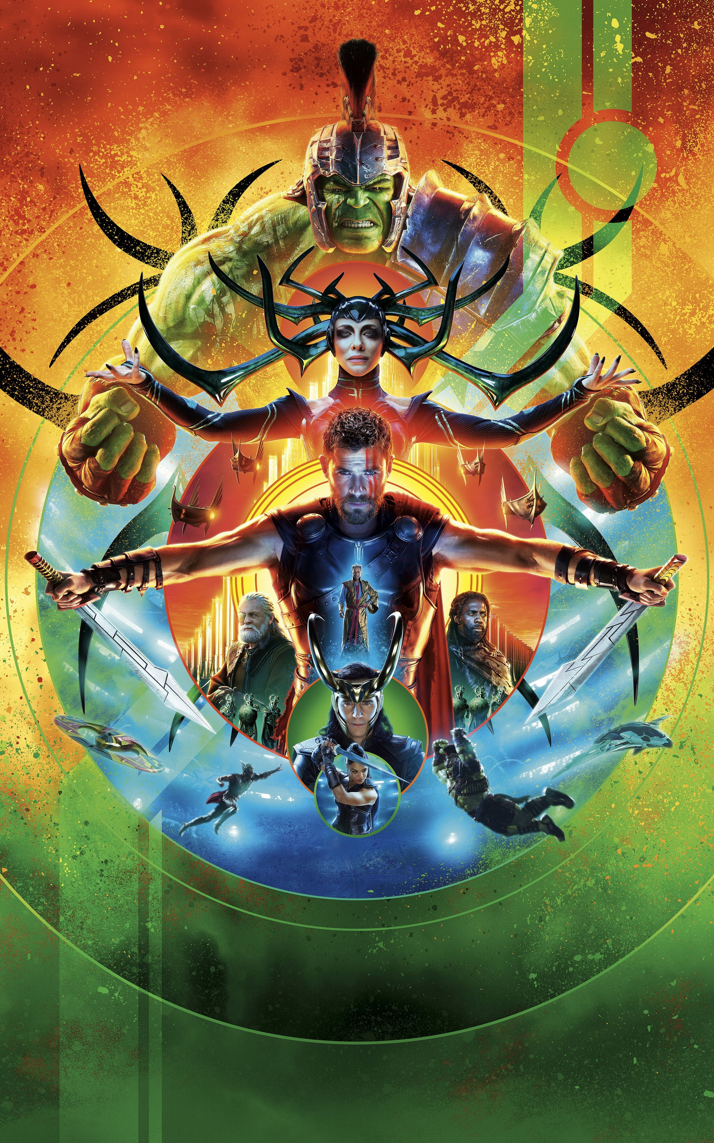 2500x4000 Movie of the Week, Thor: Ragnarok (Mobile Wallpapers 189) - Album on ...