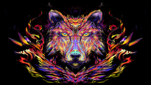 Trippy Wolf Wallpapers – Top Free Trippy Wolf Backgrounds