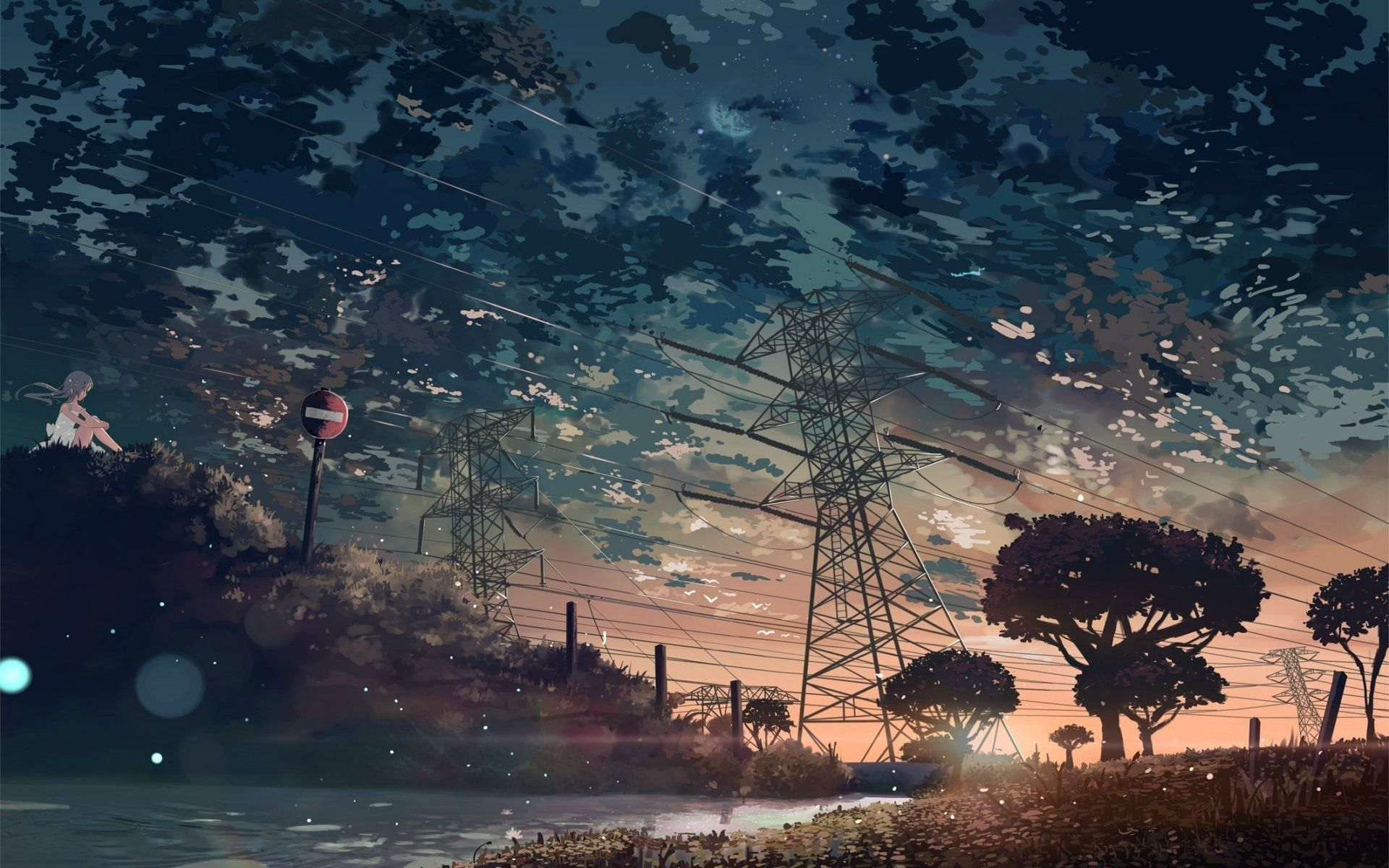 1920x1200 Anime Nature Wallpapers