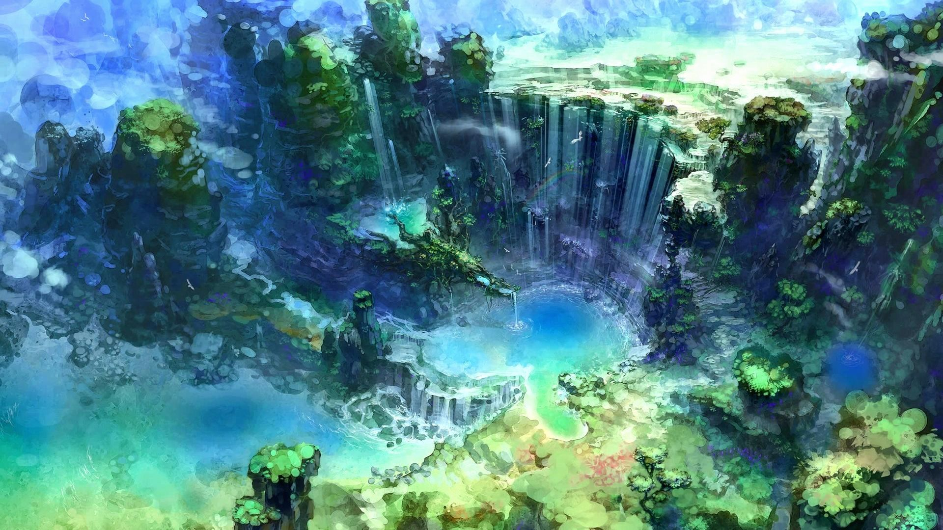 1920x1080 Anime Nature Wallpapers