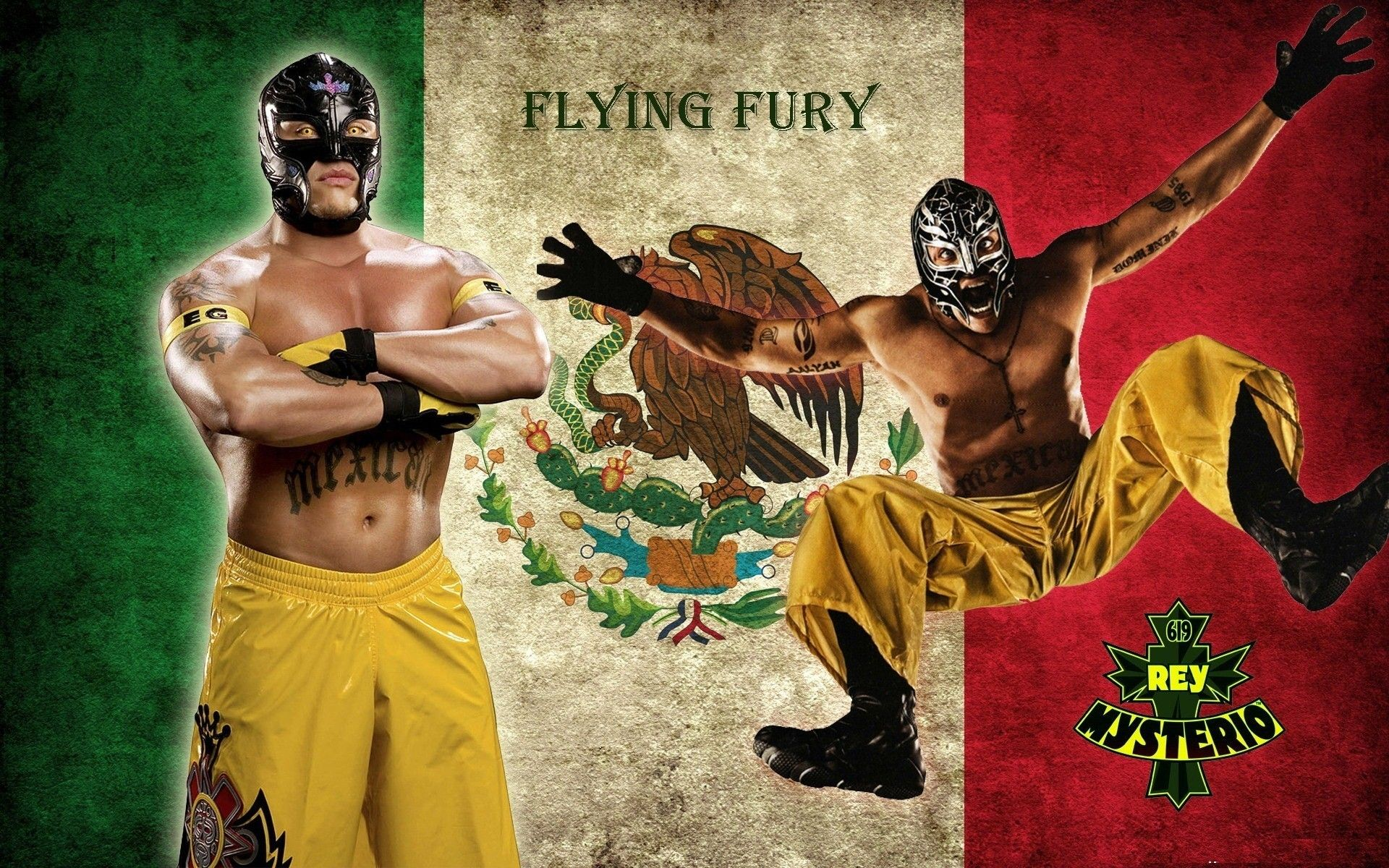 1920x1200 Rey Mysterio Flying | HD Wallpapers