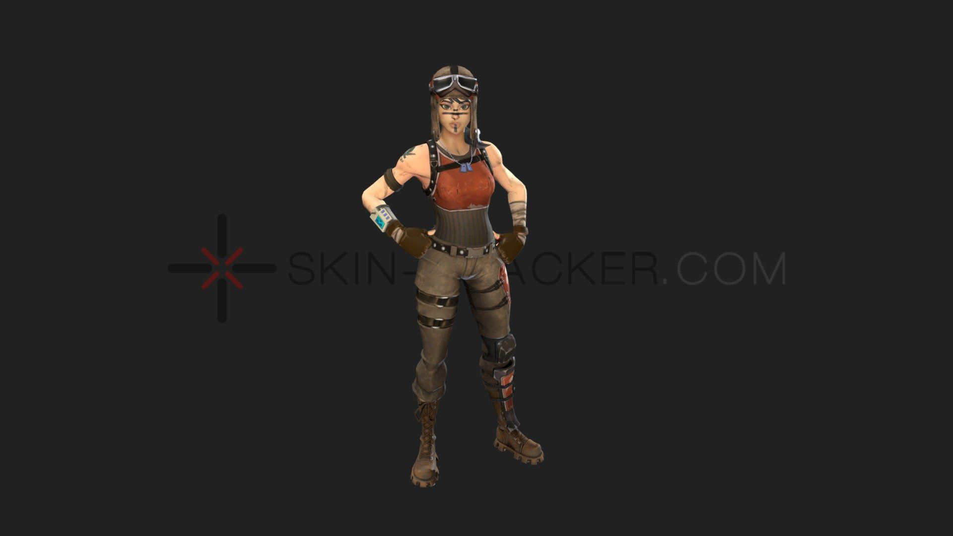 1920x1080 Fortnite - Renegade Raider - 3D model by Skin-Tracker (@stairwave ...