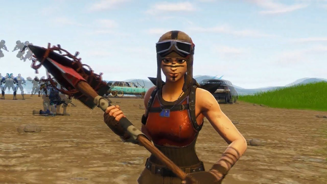 1280x720 Fortnite Renegade Raider Wallpaper | www.topsimages.com