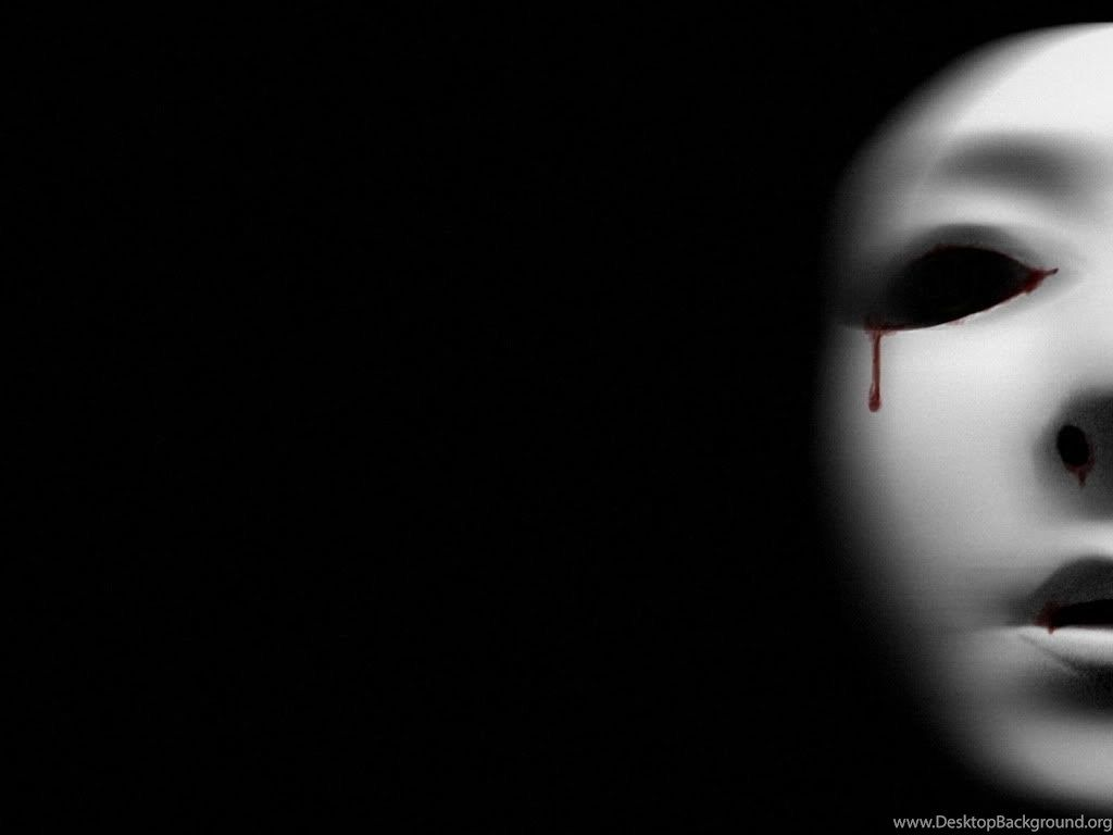 1024x768 Tears Wallpapers Bloody Black Desktop Photo By Pieismine Desktop ...