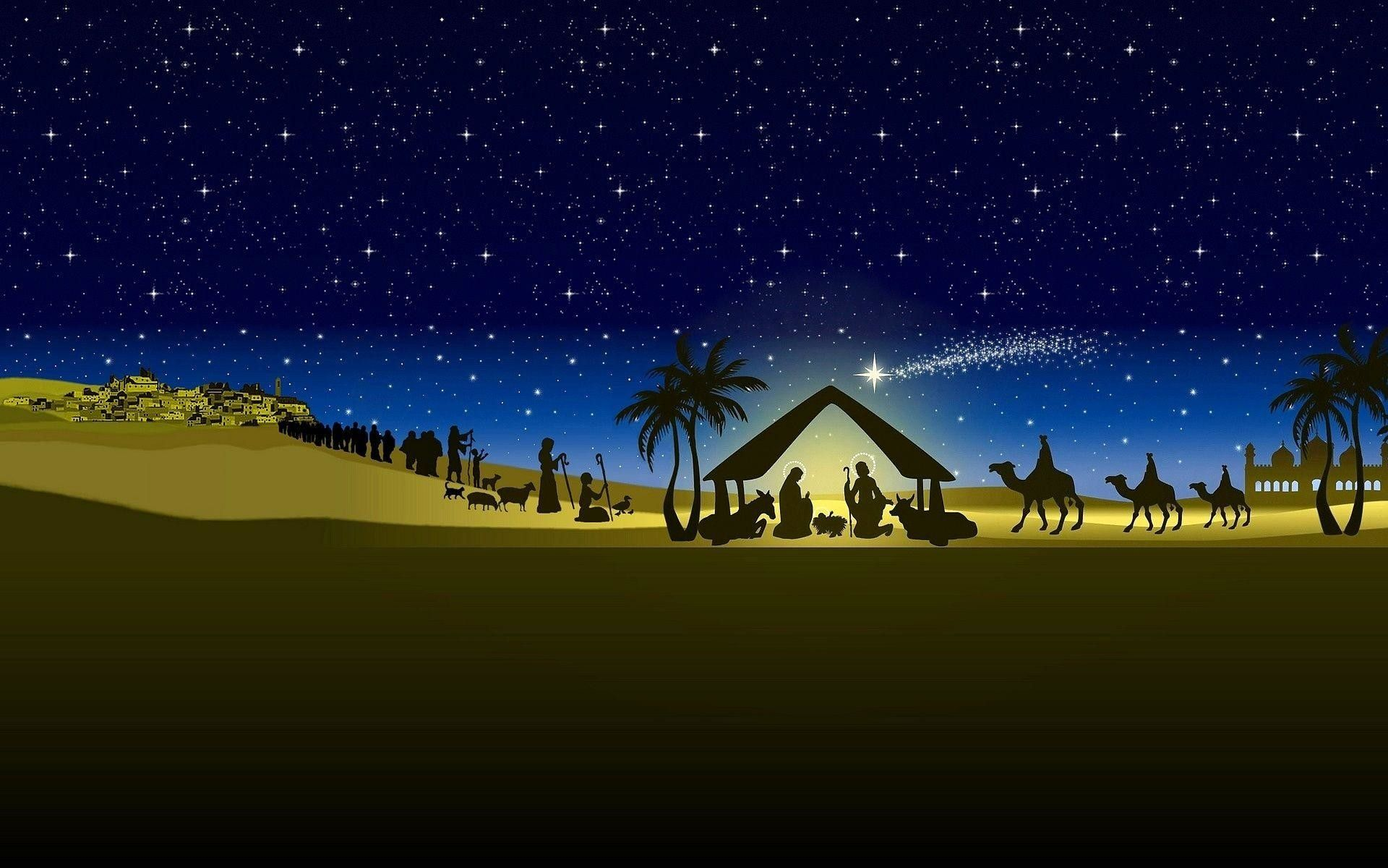 1920x1200 Christmas Nativity Wallpaper (62+ images)