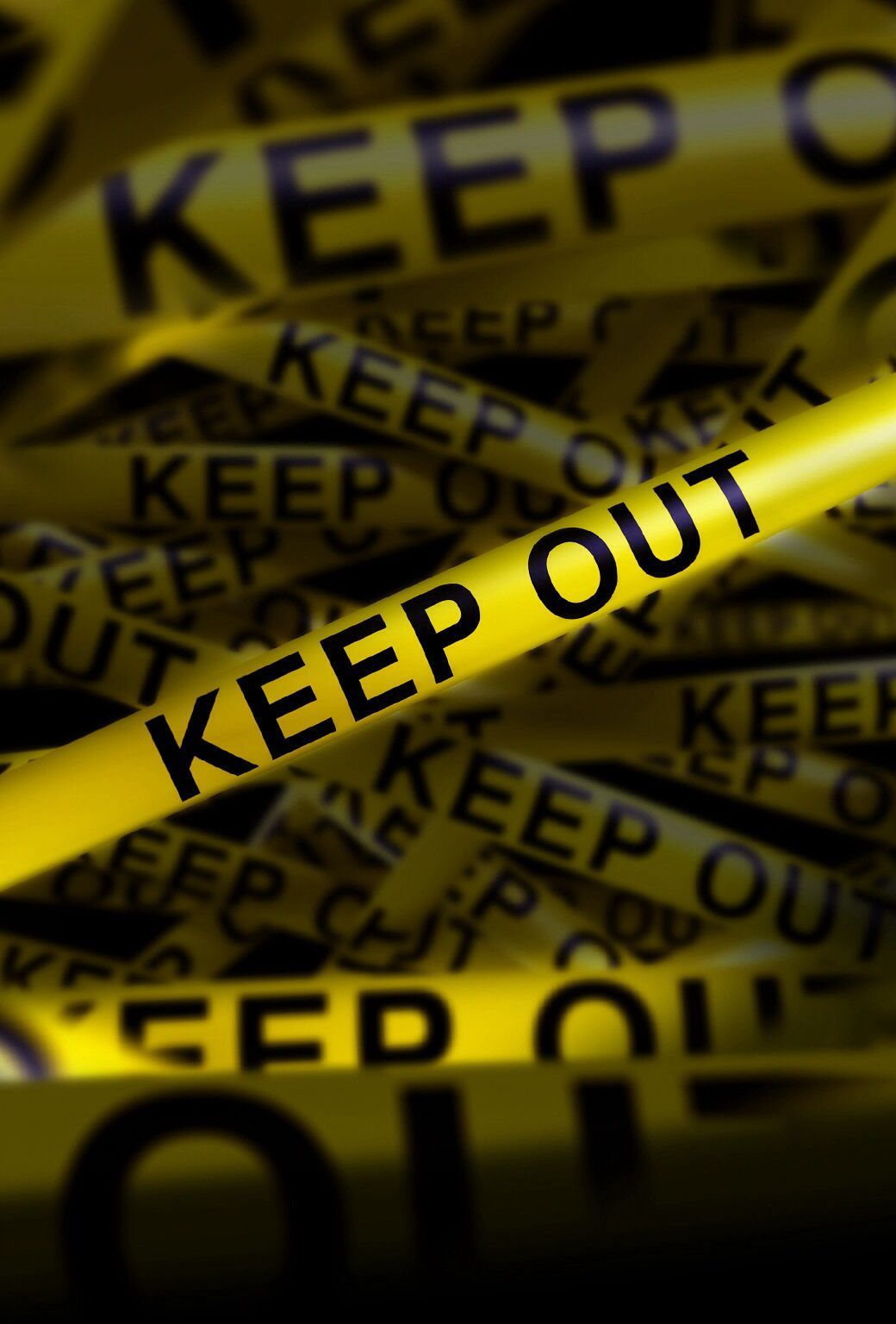 1040x1536 police tape. keep out. Wallpaper iPhone background lock screen ...