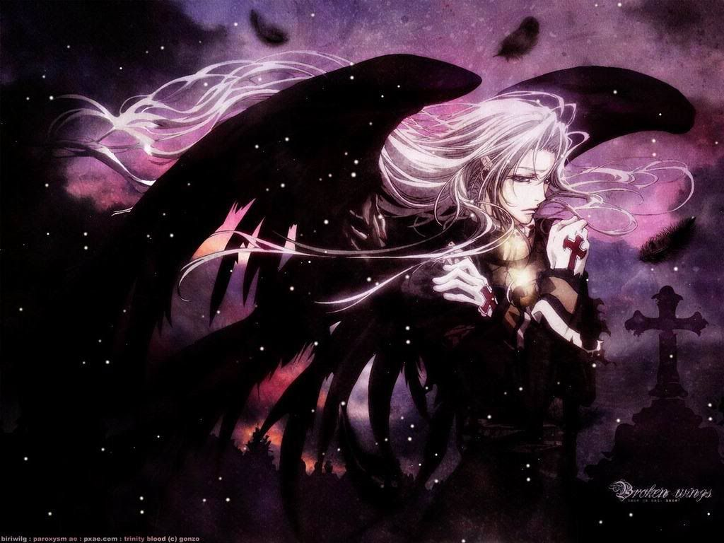 1024x768 Female Dark Angel | Wallpapers Girl Cold Anime Manga Dark Angel Yeah ...
