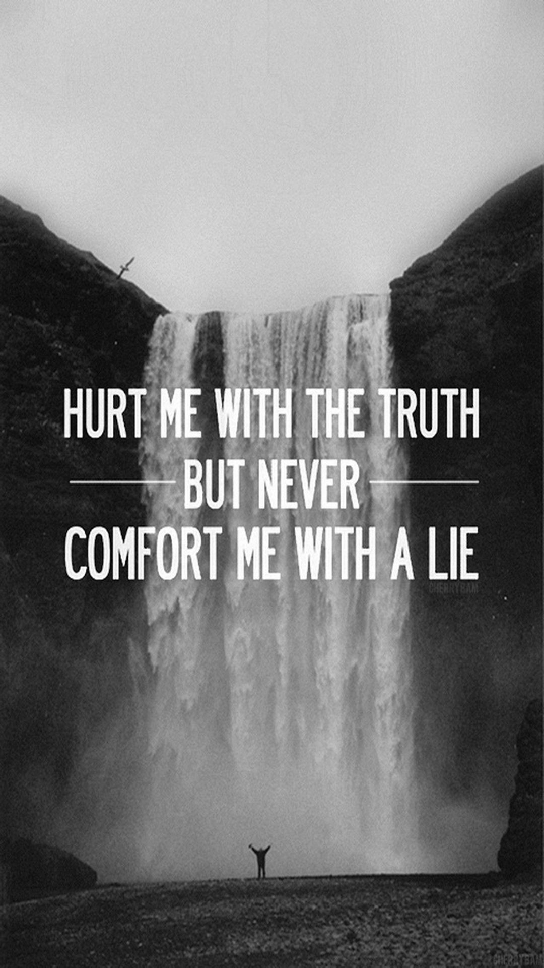 1080x1920 Hurt Me With The Truth Mobile HD Wallpaper - Vactual Papers
