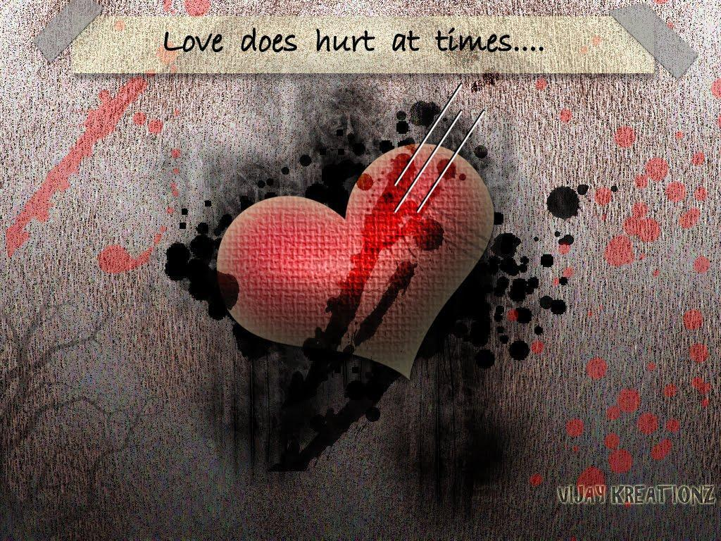 1024x768 Love Hurts Wallpapers