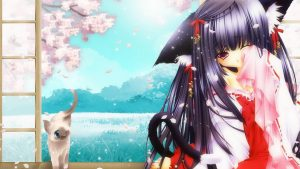 Anime Cat Girl Wallpapers – Top Free Anime Cat Girl Backgrounds