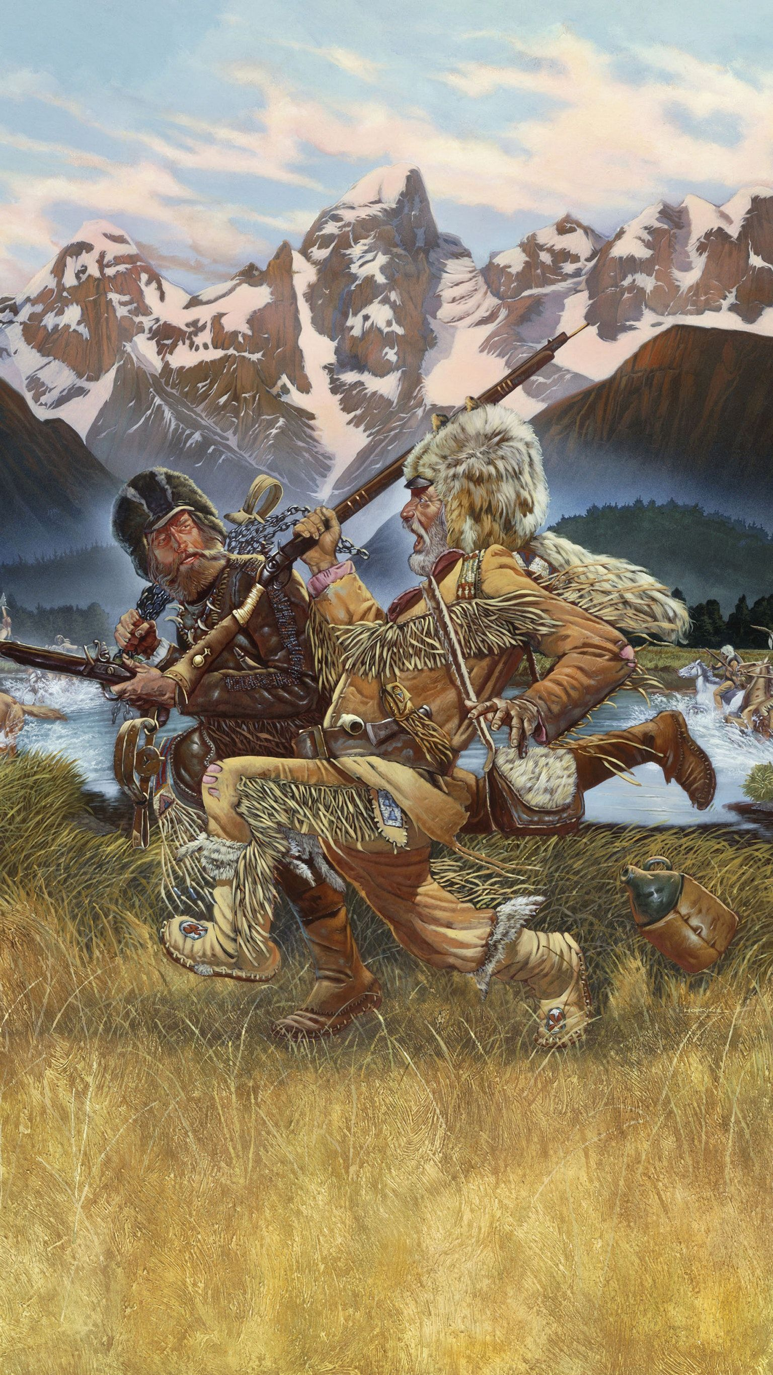 1536x2733 The Mountain Men (1980) Phone Wallpaper | Adventure | Mountain man ...