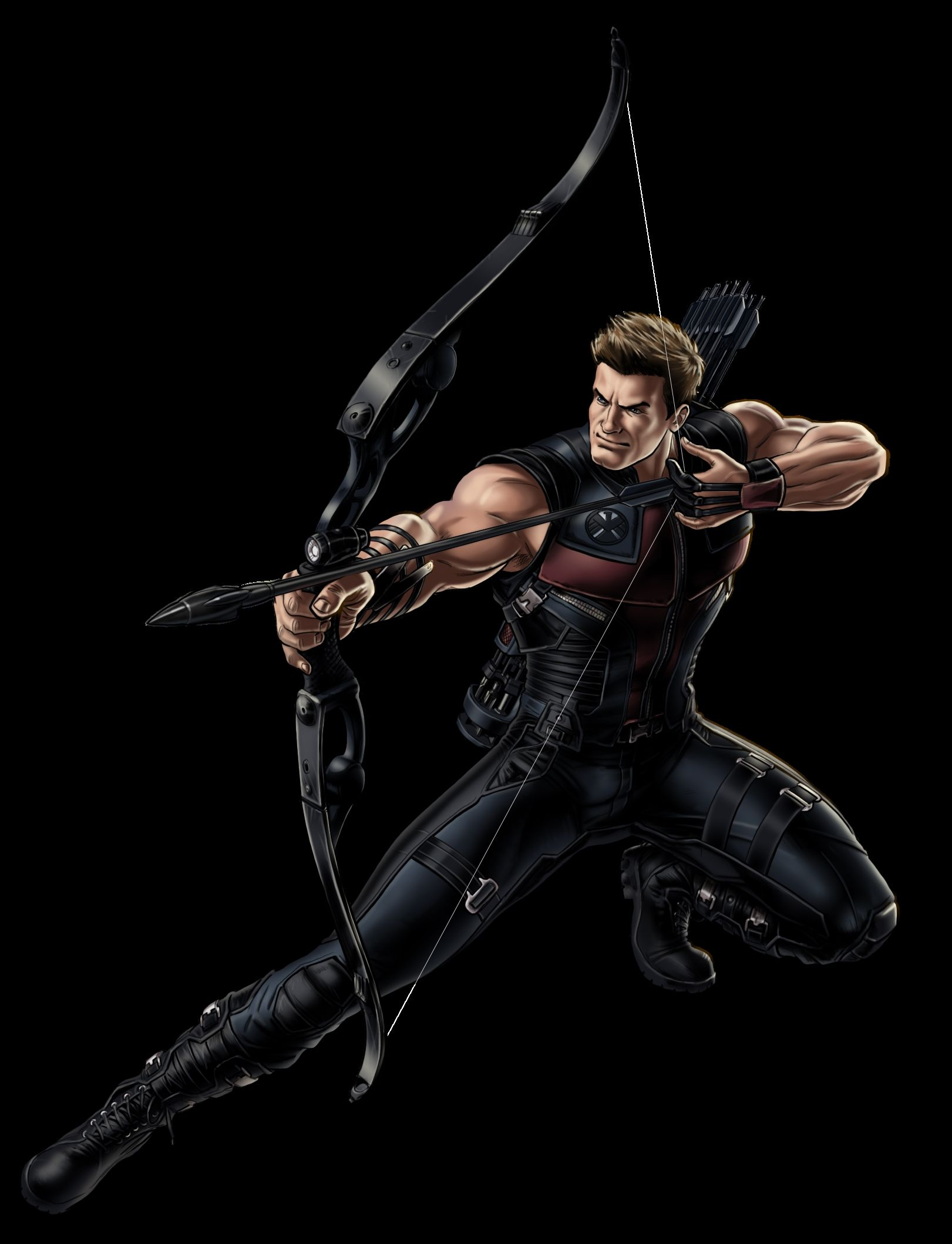 1621x2118 Hawkeye Marvel Avenger Portrait Art Mobile Iphone