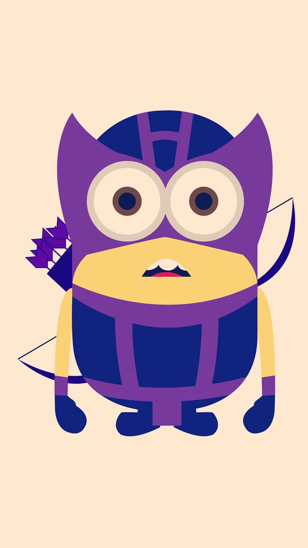 1080x1920 Hawkeye Minion Avengers iphone 6 plus wallpaper HD - Despicable Me ...