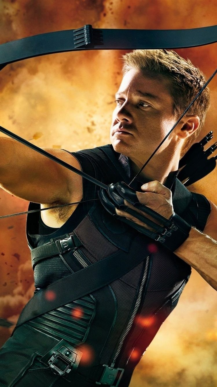750x1334 Wallpaper Hawkeye in The Avengers 2560x1600 HD Picture, Image