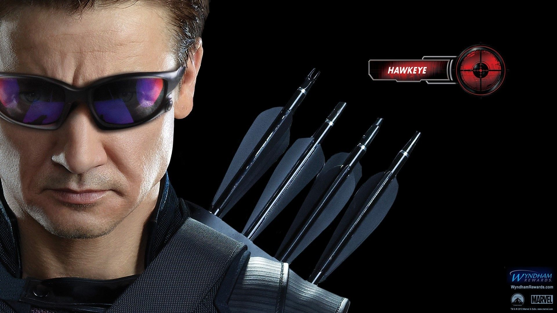 1920x1080 Hawkeye jeremy renner the avengers movie faces wallpaper ...