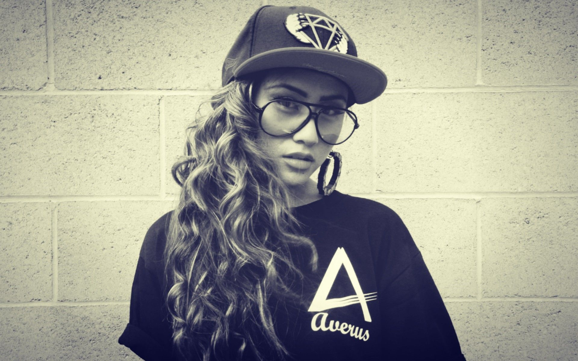 1920x1200 Swag Girl with Cap Images | HD Wallpapers