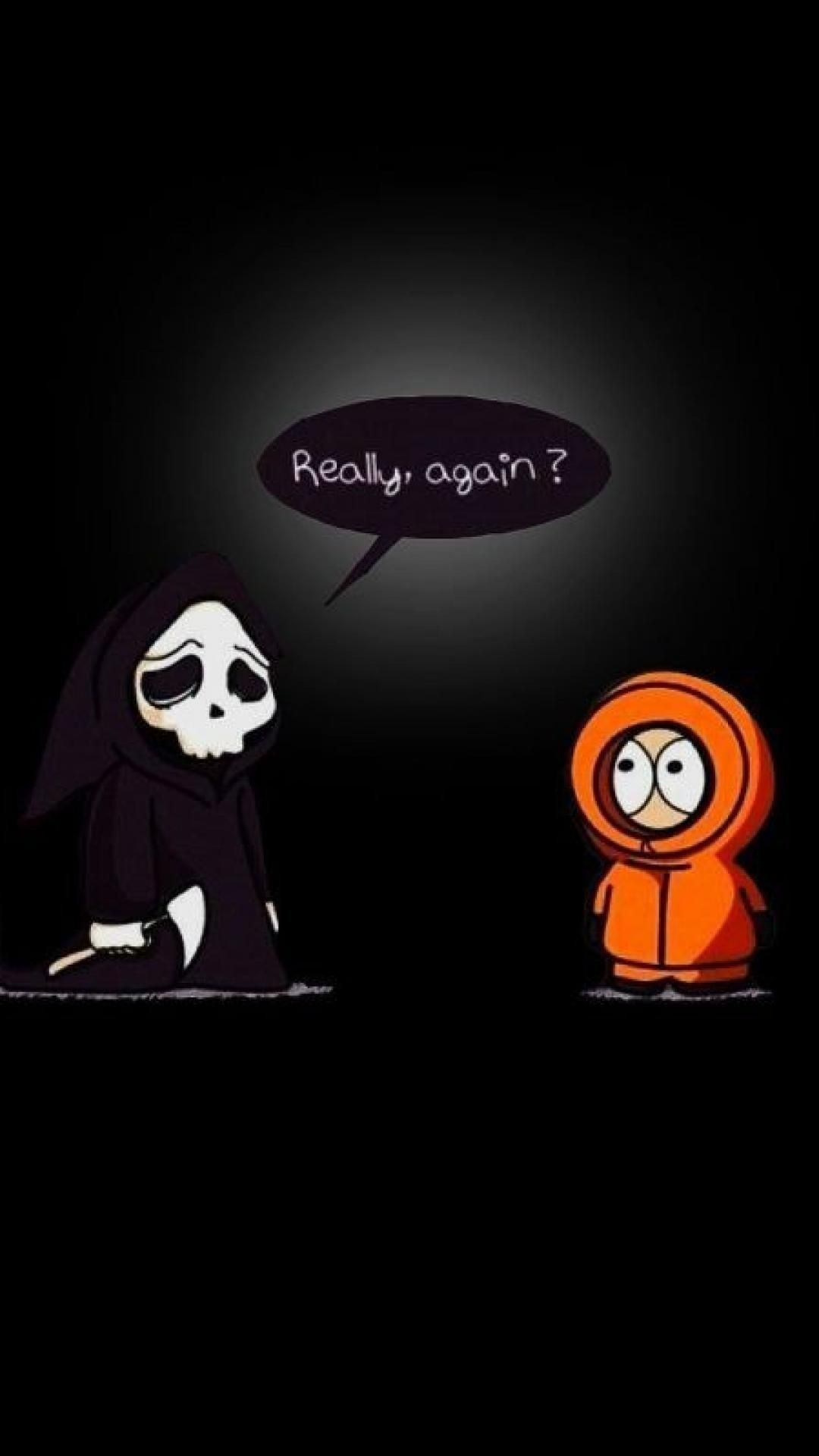 1080x1920 Download south park funny kenny mccormick clean 1080 x 1920 ...