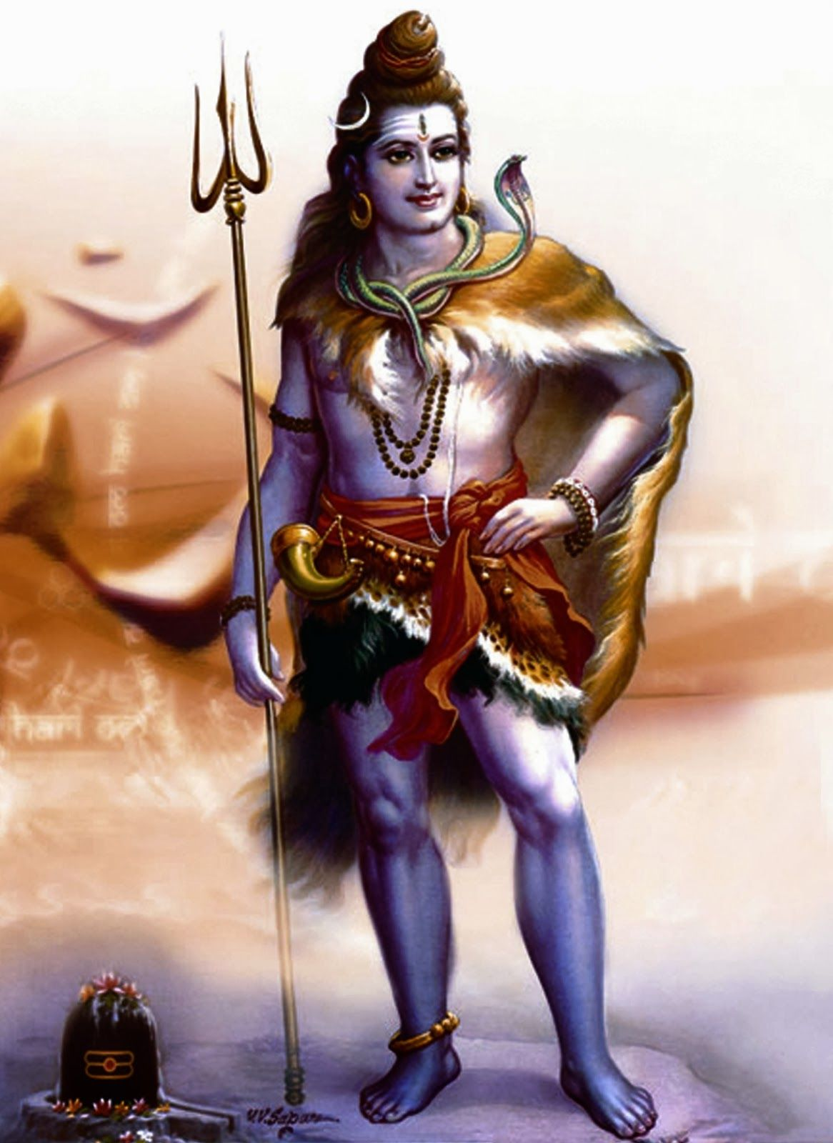 1166x1600 The Most Unique and Powerful Shiva Images Collection on the Internet!