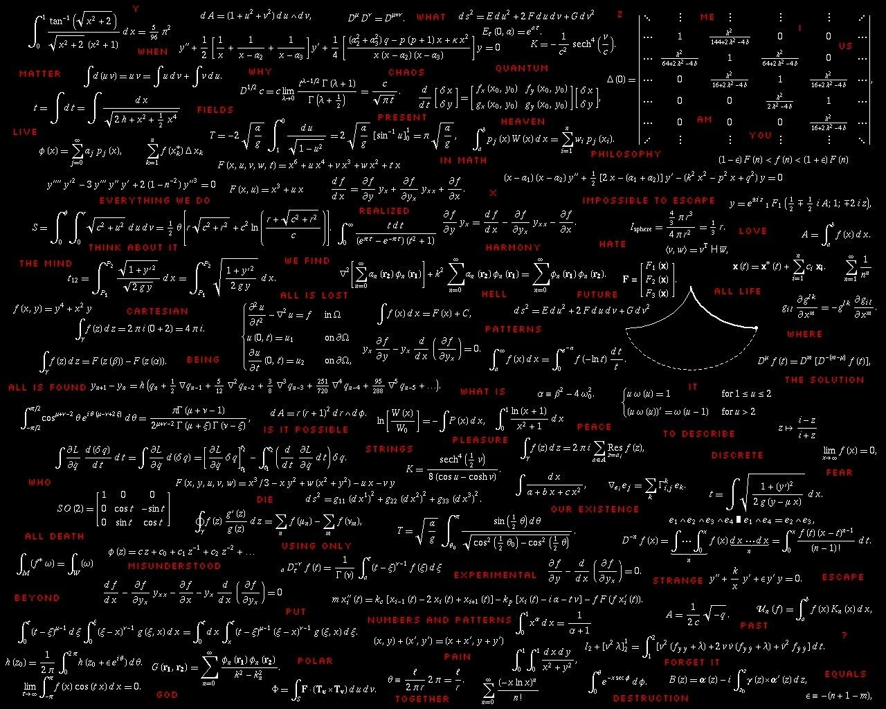1280x1024 What is the most beautiful statistics/mathematics wallpaper you have ...