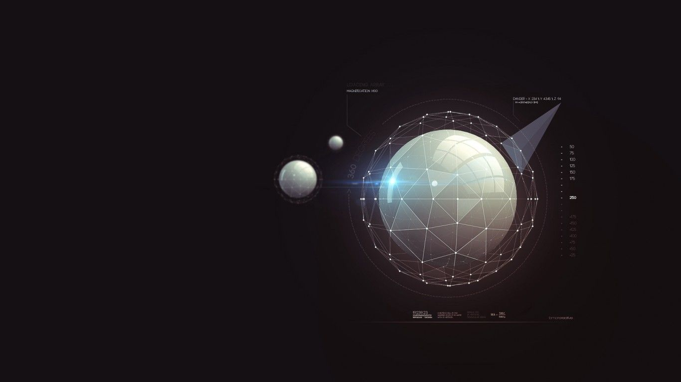 1366x768 Download 1366x768 Planet, User Interface, Statistics Wallpapers for ...