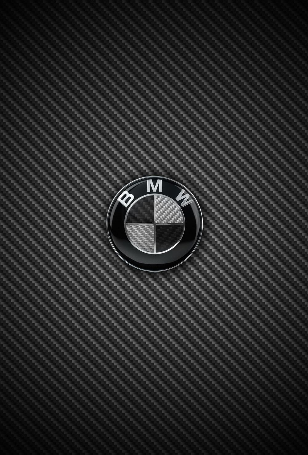 1000x1477 Carbon Fiber BMW and M Power iPhone wallpapers for iOS 7 parallax ...
