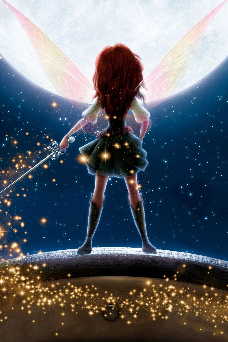 800x1200 Download wallpaper 800x1200 the pirate fairy, disney, glitter, wings ...