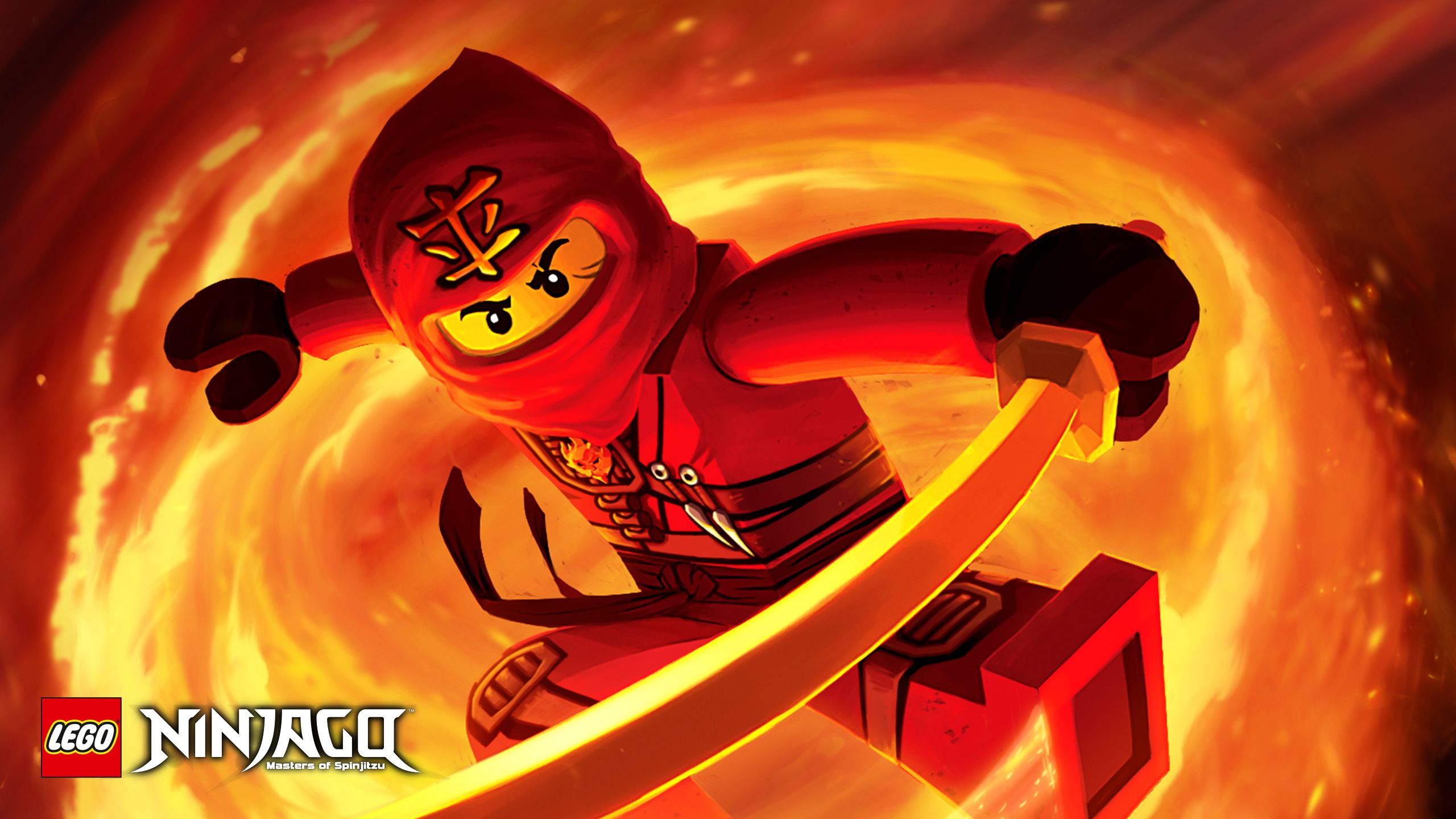 2560x1440 Kai Poster - Tournament of Elements - Wallpapers - LEGO® NINJAGO ...