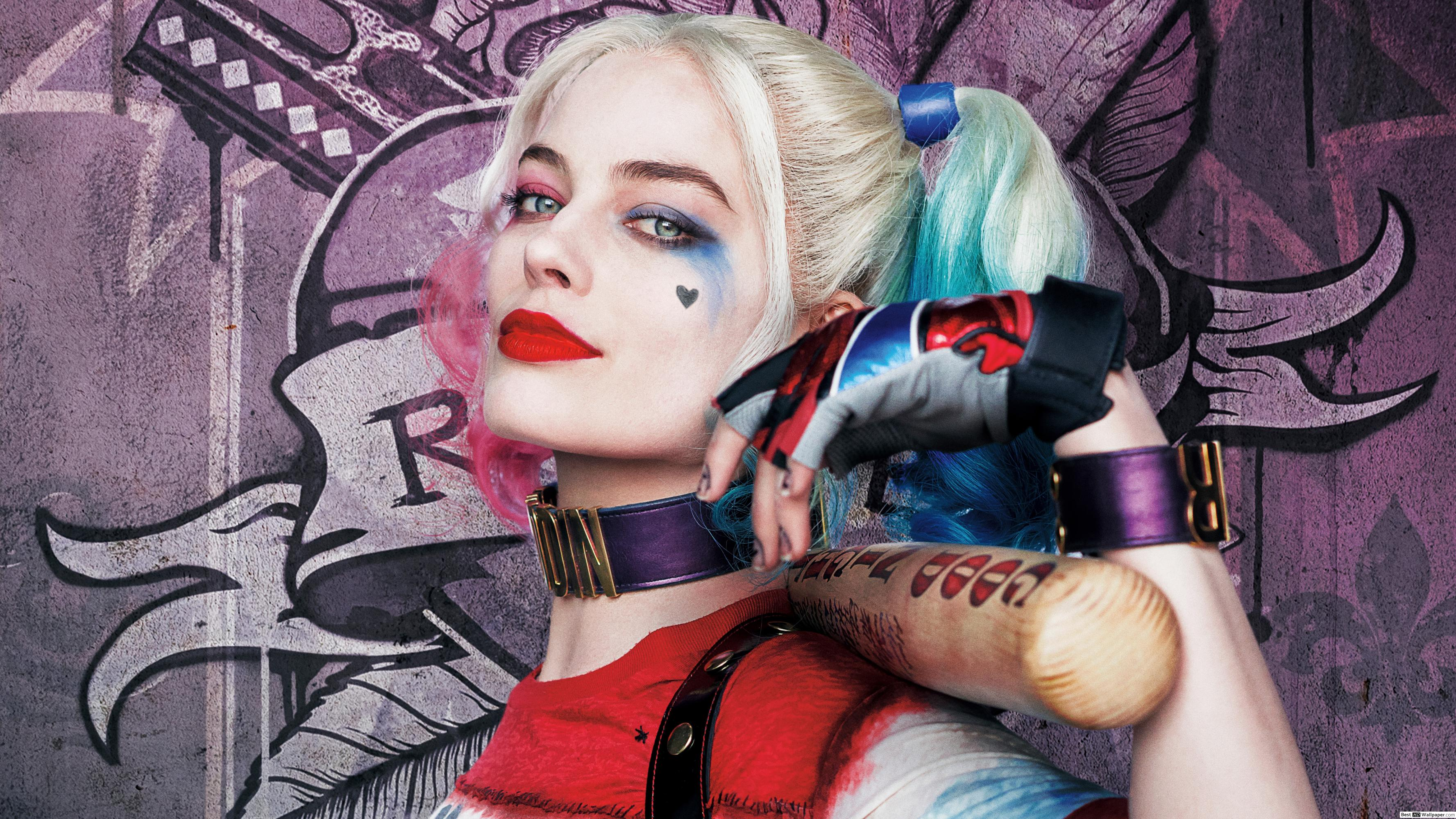 3554x1999 Suicide squad - Harley Quinn HD wallpaper download