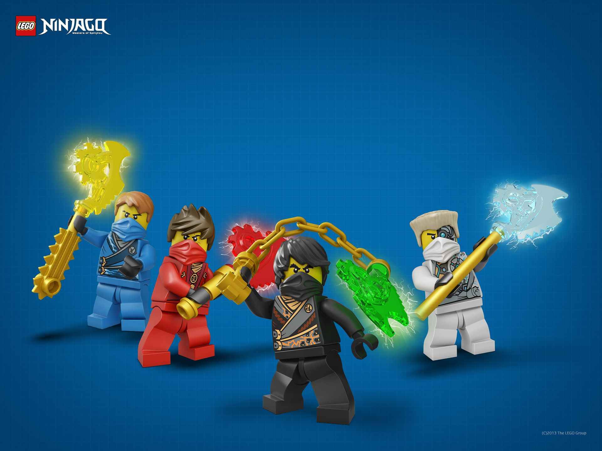 1920x1440 Lego Ninjago Characters - Wallpaper, High Definition, High Quality ...