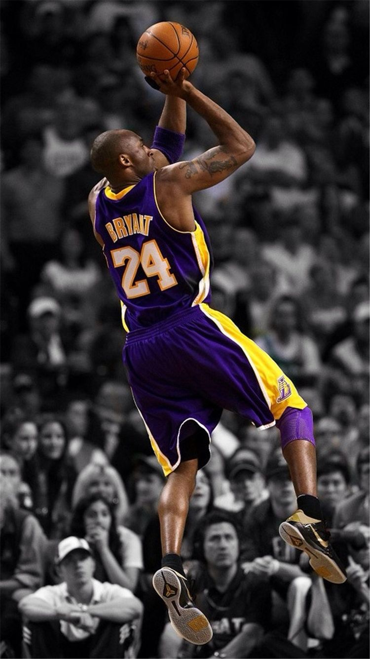 750x1334 NBA Super Star Brant Kobe Show iPhone 8 Wallpaper Download | iPhone ...