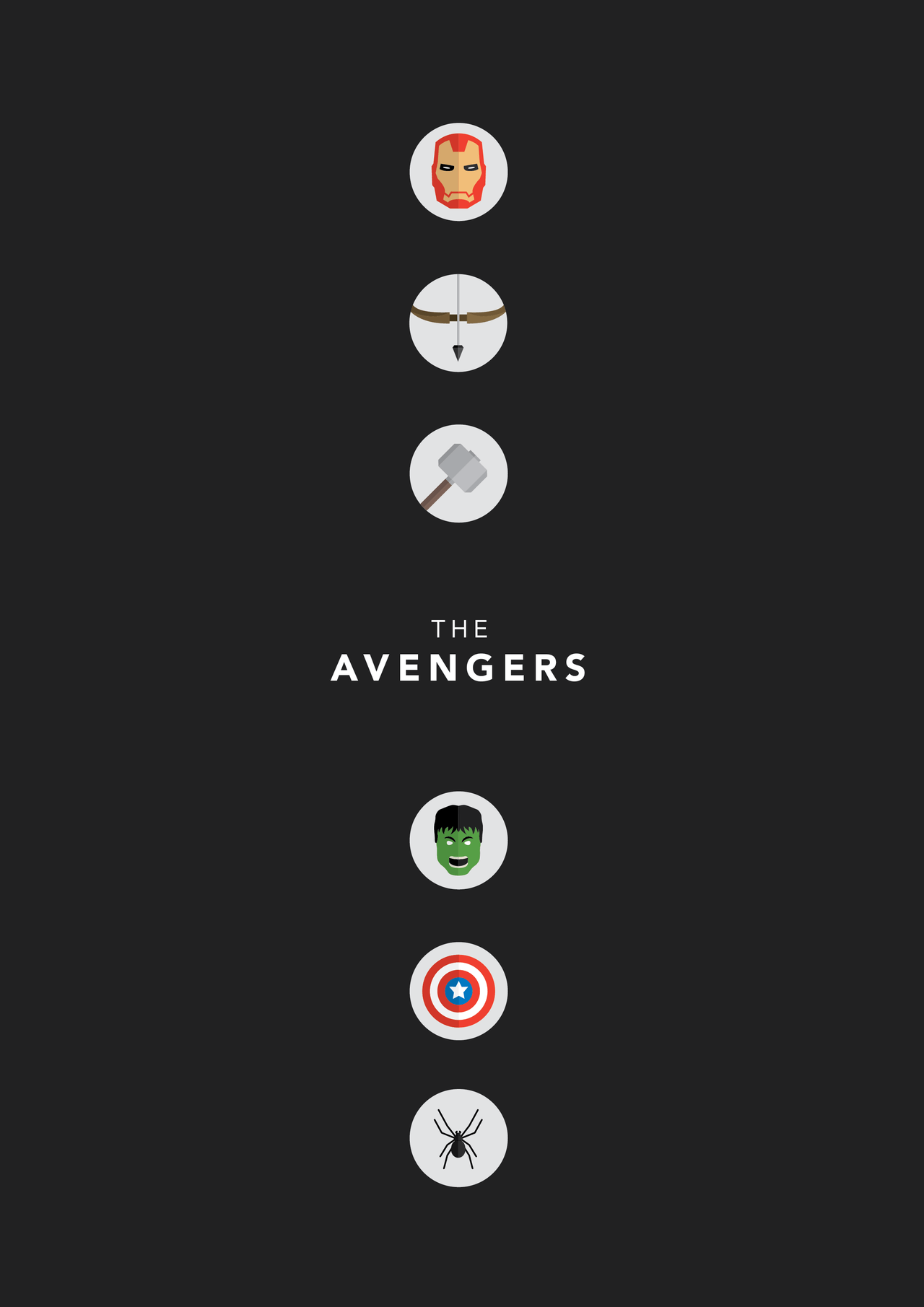 1280x1811 The Avengers Poster 120 | GoldPoster