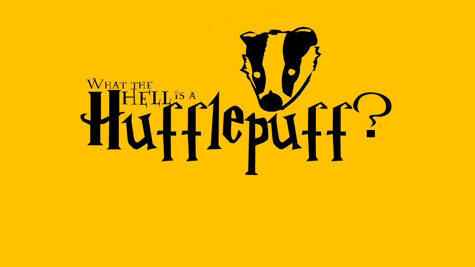 1600x900 Hufflepuffs Wallpapers