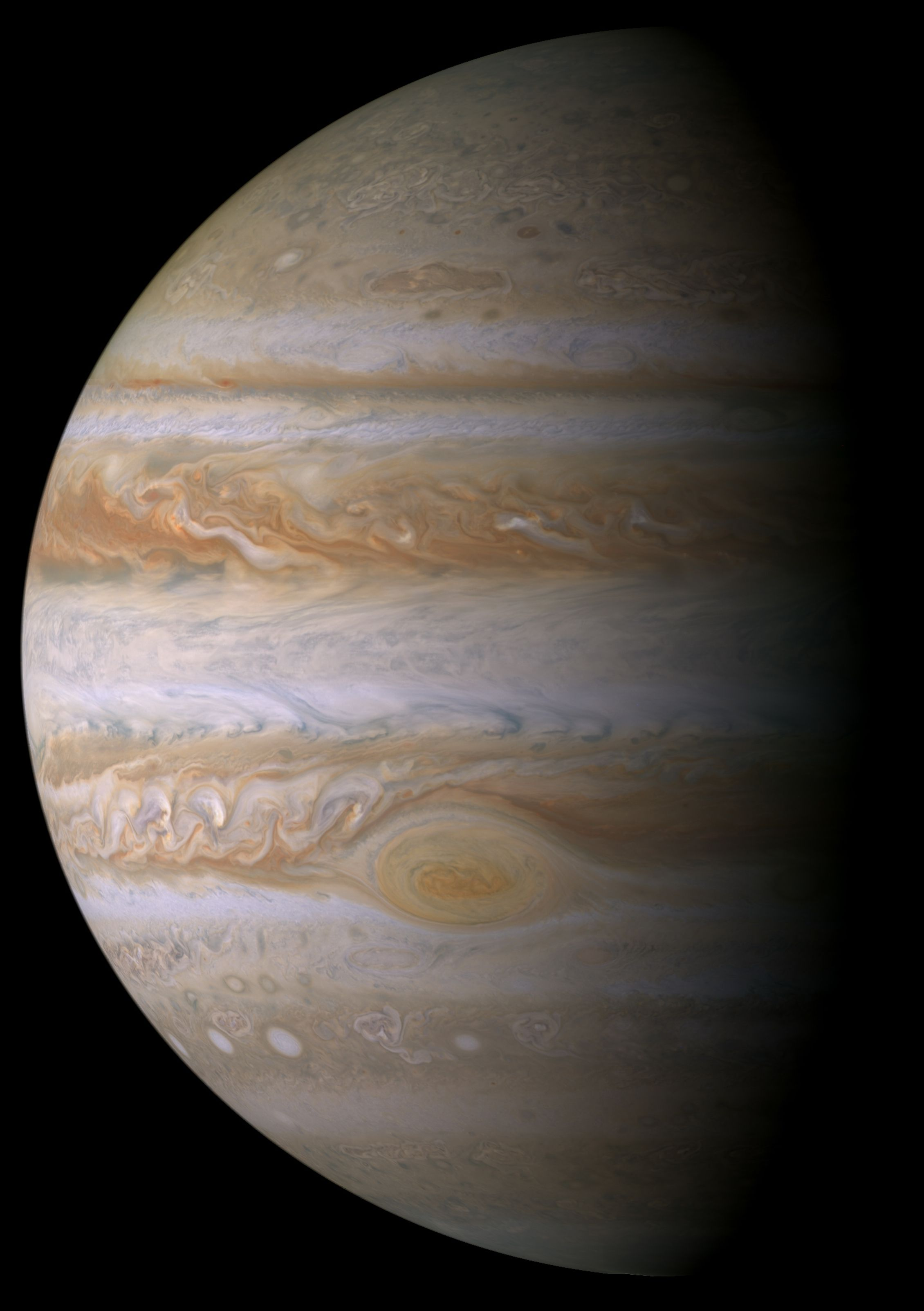 2260x3207 File:Portrait of Jupiter from Cassini.jpg - Wikipedia