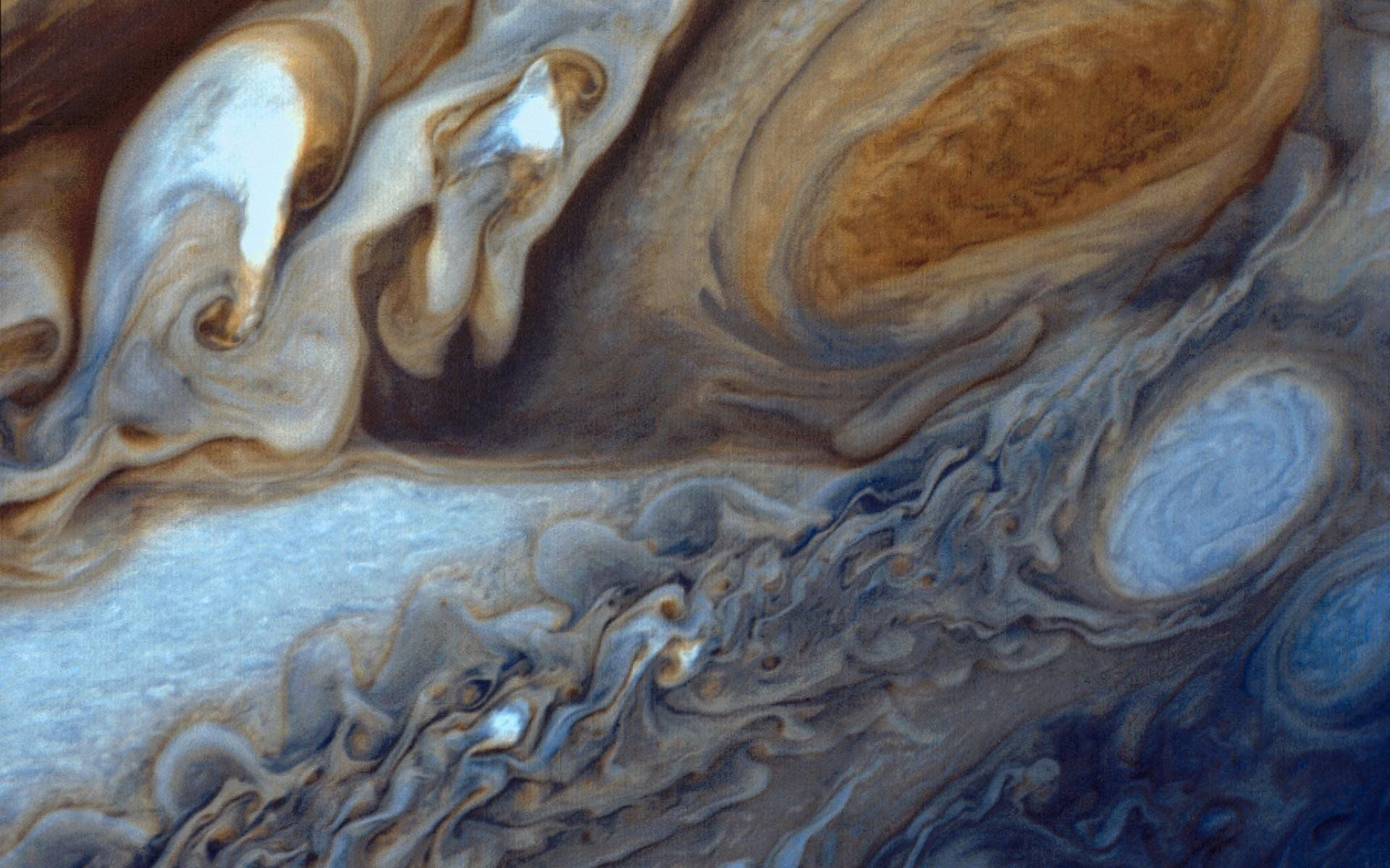 1920x1200 Jupiter's Great Red Spot Space Wallpaper