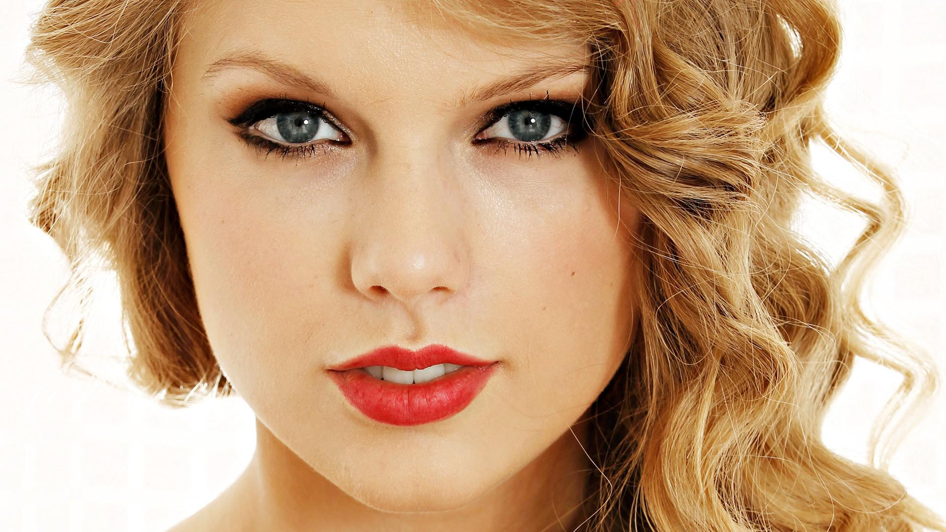 1920x1080 Beautiful Taylor Swift American Singer Red Lips HD Photo wallpaper ...