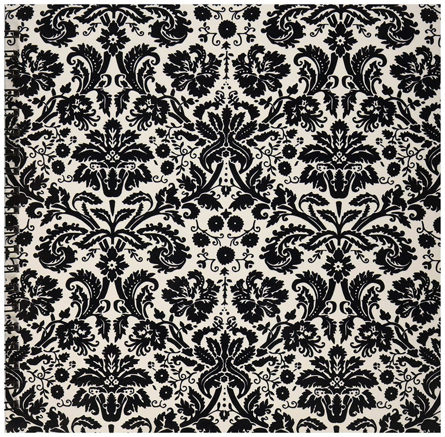 1500x1474 Buy 3dRose db_151441_2 Black and White Damask Stylish Swirling ...