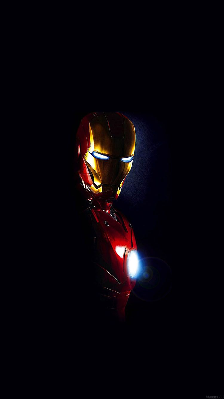 750x1334 PAPERS.co | iPhone wallpaper | aa25-ironman-in-dark-film-art