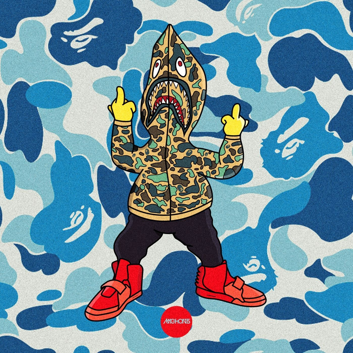 1400x1400 Pin by aka.brodie on Bart simpsons | Dope art, Dope wallpapers, Art