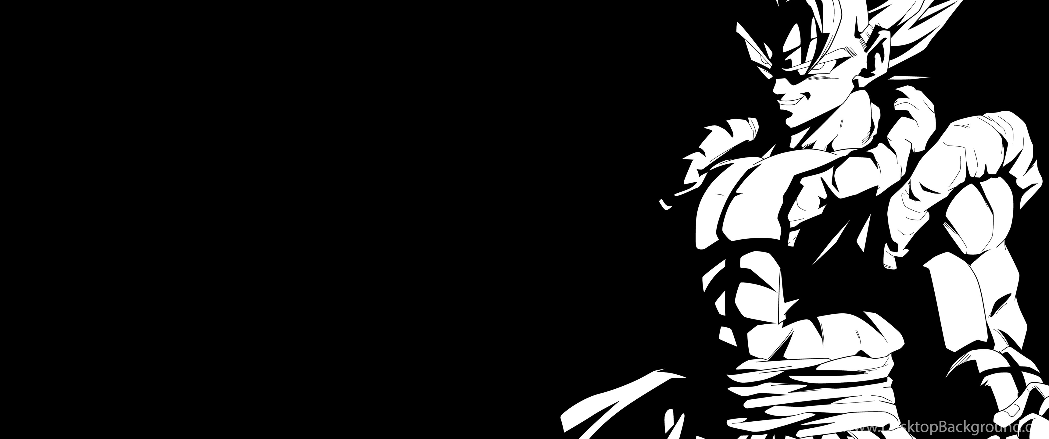 3440x1440 Super Gogeta Black And White 4K Wallpapers By RayzorBlade189 On ...