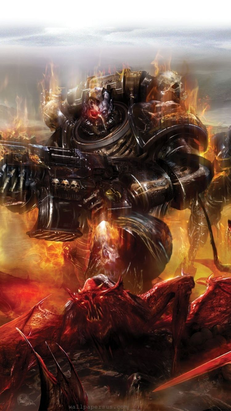 750x1334 Video Game/Warhammer 40K (750x1334) Wallpaper ID: 624420 - Mobile Abyss